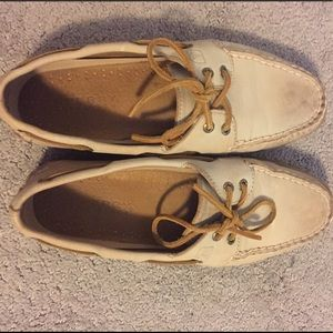 Sperry authentic original weathered boat shoe